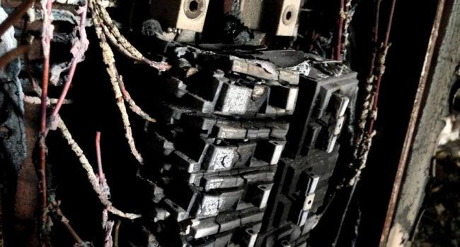 fire damaged restoration electronics